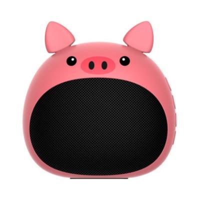 Portable Bluetooth Speaker Stereo Pairing Speaker High Definition Sound Cute Cartoon Wireless Speaker Ideal Gift for Girls Kids