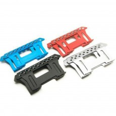 Metal Side Pedal Climbing Car Accessory Foot Pedal Plate 2PCS Set Fit for SCX10 90046 90047