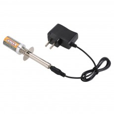 HSP Handy Nitro Starter Glow Plug Telecar Igniter Lighter with Battery Charger Suit for HSP RedCat Nitro Powered 18 10 RC Car