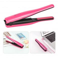 Mini Travel Portable Hair Straightener Curling Iron Cordless USB Charger for Beginner Christmas Gift BLACK FRIDAY SALE