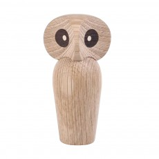 Nordic Style Home Decoration Crafts For Wooden Products Owl Oak Wood Creative Puppet