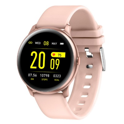 Smartwatch Bracelet Round Screen Heart Rate Meter Blood Pressure Blood Oxygen Sleep Monitoring Smart Watches for Men Women Sports Watch