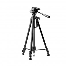 WF3520 Extendable Travel Tripod Lightweight Aluminum Camera Stand with 360 Degree Ball Head and Carrying Bag