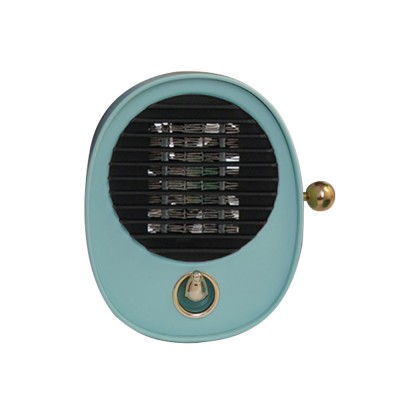 Portable Quick Heating Dormitory Mini Household Mute Desktop Fan Heater Strong Hot Wind Energy Conservation