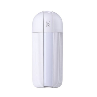 Mini Portable Car Humidifier Large Capacity Long Endurance Wireless USB Charging Mute Humidifier Night Light with Timing Function