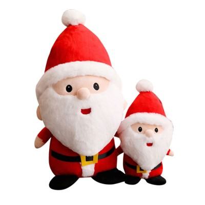Cute Creative Father Christmas Santa Claus Stuffed Toys Doll Puppet Ornament Decoration Children Kids Toy