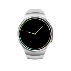 KW18 Minimalist Intelligent Multifunctional Bluetooth Smartwatch with Round HD Touch Screen Large Battery Capacity