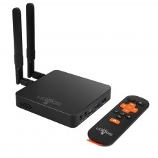Ugoos AM6 Pro Android 9.0 TV Set-top Box Remote Control Digital Converter Box Support 2.4G 5G Dual WiFi with Bluetooth 5.0