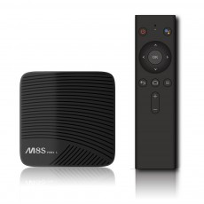 M8S PRO Android 7.1 Set-Top TV Box Smart TV Player Set Top Box with Remote Control and Support 4K HD Online Playback