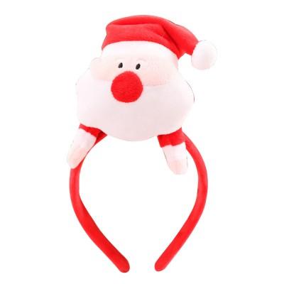 Santa Claus Hair Band Plush Toys Festival COS Props Christmas Tree Elk Hair Ornaments Christmas Gifts
