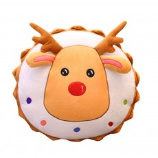 2019 Christmas Pillow Plush Pendant Tree Santa Claus Elk Xmas Tree Plush Toy Christmas Decoration