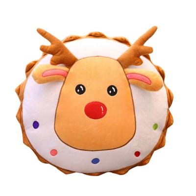 2019 Christmas Pillow Plush Pendant Tree Santa Claus Elk Xmas Tree Plush Toy Christmas Decoration