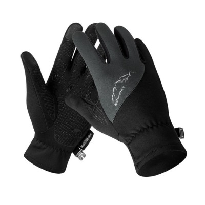 Naturehike Waterproof Gloves With Skid-proof Touch Screen For Men's Sports Cycling In Autumn And Winter Outdoor Sports Gloves