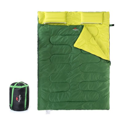 Naturehike Sleeping Bag for Two Adult Outdoor Camping Tent Cotton Sleeping Bag for Lunch Break in Four Seasons Office
