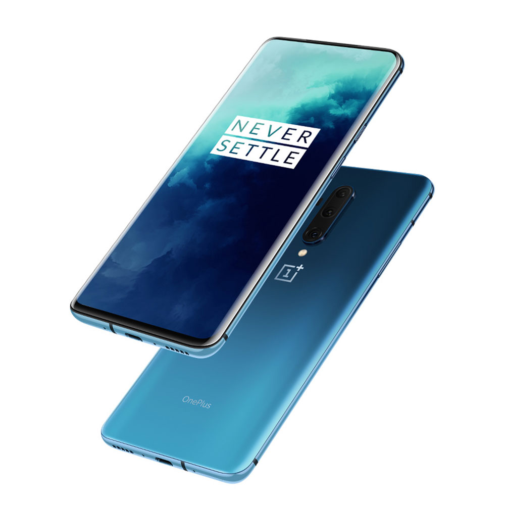 OnePlus 7T Pro Mobile Phone Smartphone with 2K+90Hz Screen 855 Snapdragon Processor 48 Million Camera Large Battery Capacity Haptic Vibrating Motor