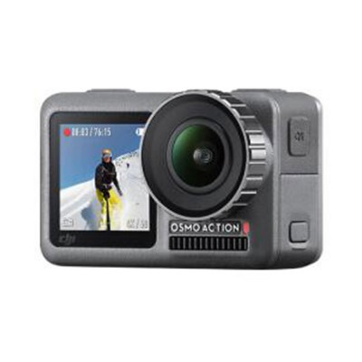 DJI Osmo Action Camera Professional Multifunctional Waterproof Sports Camera with Dual HD Screen Time-lapse Shooting Slow-motion Record Voice Control Easy Operation