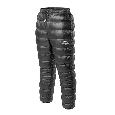 Naturehike White Goose Down Pants for Winter Sports Waterproof Thermal Winter Trousers Windproof Down Wadded Trousers Down Pants