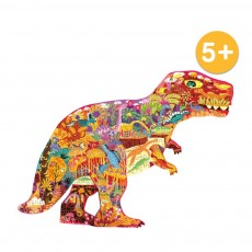 280 Pcs Dinosaur Puzzles Toys with Rich Scenes Educational Puzzle Toys for Above 5 Years Children of and Parent-Child Interaction