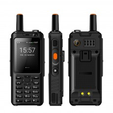 UNIWA F22 Rechargeable 4G Two-Way Radios Walkie Talkies 4000mAh Battery Powered 2.4 Inch Screen GPS Android Smart PPT Intercom Phone