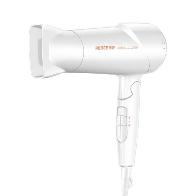POREE PH1612 Fashionable Foldable Hair Dryer with Six Gears 2200W Hair Protecting Electric Dryer for Both Domestic and Hair Salon