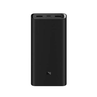 Xiaomi Portable Minimalist Design Mi 20000mAh Power Bank with Imitation Ceramic Highlight Surface Hidden Button