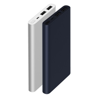 Xiaomi Portable Functional Minimalist Design Thin Mi 10000mAh Power Bank with Fast Charging High-density Lithium Polymer Batteries