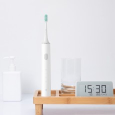 Mi Minimalist Electric Toothbrush with High-efficiency Magnetic Levitation Sonic Motor High-density Metal-free Brush Head Multiple Brush Modes