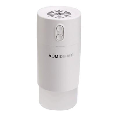 Mini Air Humidifier For Home Office Car LED Night Light Portable Snowflake Purifier Freshener Travel Mist USB Fan Humidifier