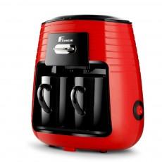 Fxunshi Automatic Coffee Espresso Tea One Touch Two Cups American Machine Coffee Maker Tea Boiler