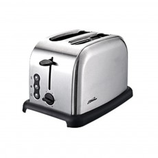 Cidylo 800W Power Stainless Steel Toaster Oven Selected Auto Switch Off 2 Slices Portable Automatic Bread Toaster