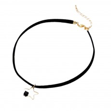 Fashion Star Choker Necklace Short Necklaces Bracelet Plated Rose Gold Neck Jewelry for Women Girls