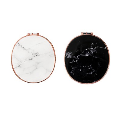 Portable Multifunctional Humidifier Nano Sprayer Water Supply Instrument Mirror Power Bank with Marble Pattern Decoration