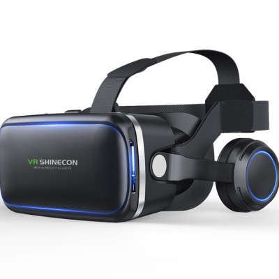 Original VR Shinecon SC-G04E New Arrive Virtual Reality Googles 3D Glasses For VR Games Movies Work With iPhone And Android