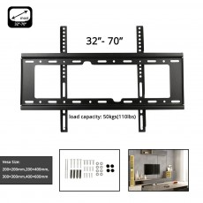 3D LCD LED Plasma 37 42 45 50 55 60 65'' 70'' inch TV Wall Mounted Bracket ON SALE