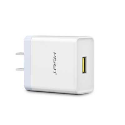 PISEN 18W Quick Charger Adapter Fast USB Wall Charger Plug Compatible with iPhone 6 Huawei Meizu Xiaomi