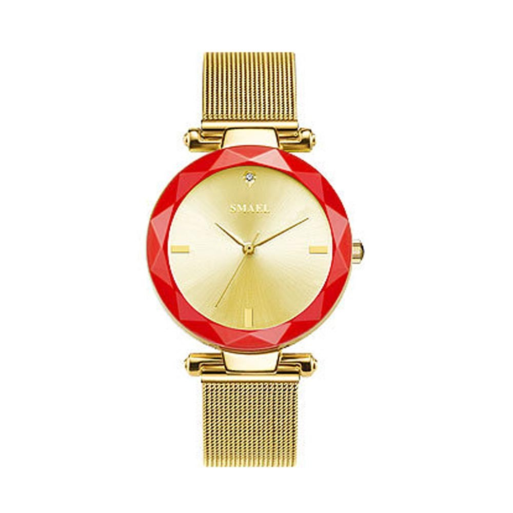 Women's New Fashionable Quartz Watch Korean Style Metal Strap Watch