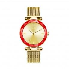 Women's New Fashionable Quartz Watch Korean Style Metal Strap Watch