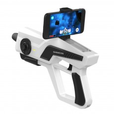 Smart AR Game Gun for Relaxation Shinecon Somatosensory AR Gun Bluetooth Connection AR Game Light Gun Compatible for 4.7-6.0 Smart Phone