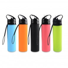 Sports Water Kettle for Outdoors Activities Food Grade Silicone Water Cup Portable Foldable Water Kettle Students Cup