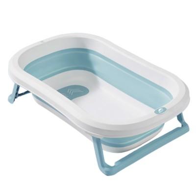 Portable Folding Baby Bath Tub Anti-Slip Bottom Non-Toxic Material Children Bathtub Bucket For Baby within 5 Year Old