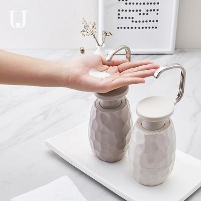 JORDAN & JUDY Fancy Nordic Style Single-hand Liquid Soap Bottle Home-used Pump Sub Bottle for Facial Cleanser, Shampoo paste, Shower Gel Dispenser