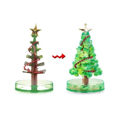 Magic Christmas Tree Paper Flower for kindergarten Children Fancy Self-made Pretty Xmas Tree Decoration Perfect Present for Kids