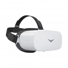 VR SHINECON Cool Virtual Reality All-in-one Smart Glasses Black and White, 64 Bit Operation System 1080P HD Image Quality 3D Glasses