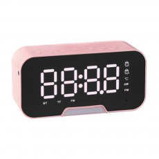 Bluetooth Speakers Alarm Clock Radio with Dual Alarms and 3 Level Brightness Adjustment and Stereo Sound
