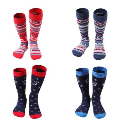 SANTO Ski Socks for Winter Outdoor Activities Thickened Cotton Socks Kids' Lightweight Thermal Socks Odor Resistant Socks