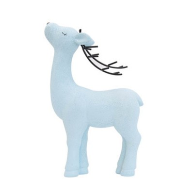 Crafts Decorative Deer Nordic Style Resin Deer Household Decoration for Living Room Bedroom and Office Decoration