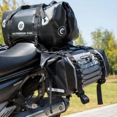 ROCKBROS Motorcycle Backseat Bag Portable Waterproof Large Capacity Functional Motorcycle Traveling Baggage Luggage Bag Pack Riding Accessories