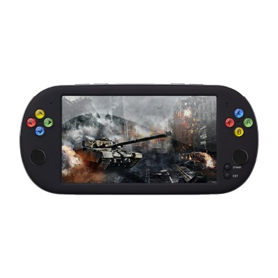 Powkiddy PSP X16 Seven Inch Large Screen Handheld Game Console for Retro Games GBA Arcade Game FC Contra Game Machine