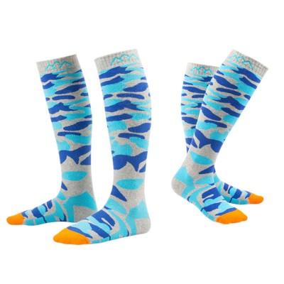 SANTO Outdoor Socks Winter Warm Ski Socks Sports Socks Sweat Absorbing Thickening Socks Long Hiking Socks