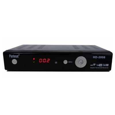 DVB-T2 TV Box High-definition Ground Wave Digital Television Set Top Box with Multiple Languages